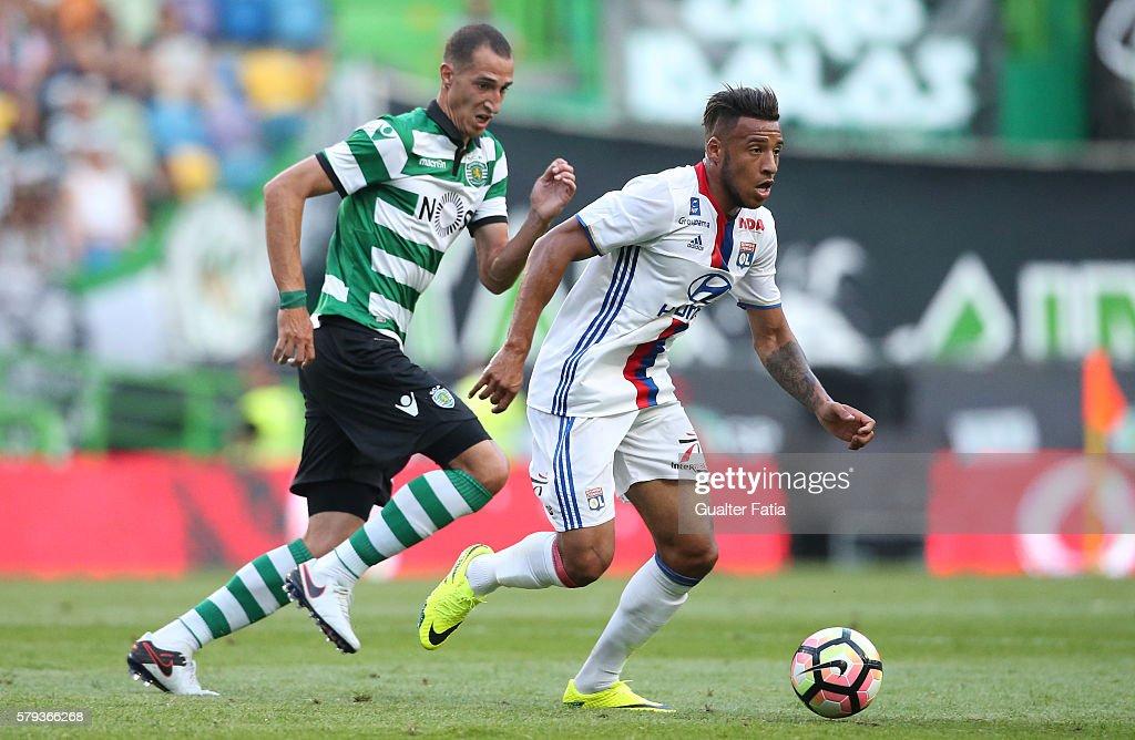 Sporting CP v Lyon - Friendly Match : News Photo