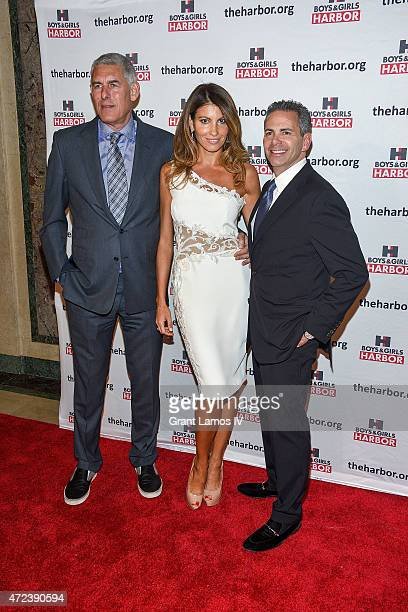 Lyor Cohen Ana Laspetkovski and event honoree David Weinreb attend the Boys Girls Harbor 2015 Salute to Achievement at The Plaza Hotel on May 6 2015...