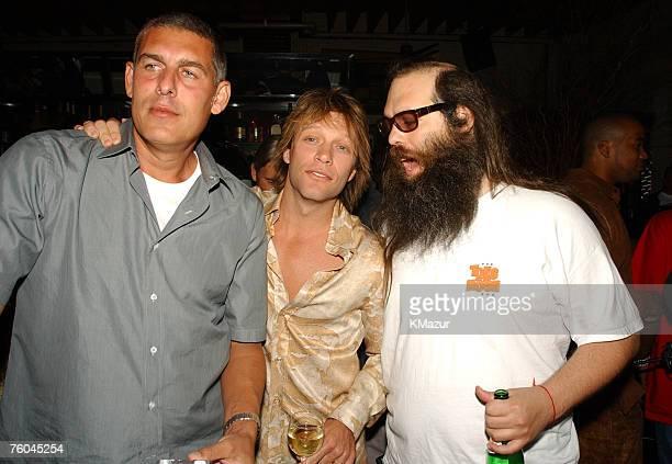 Lyor Cohen Jon Bon Jovi Rick Rubin