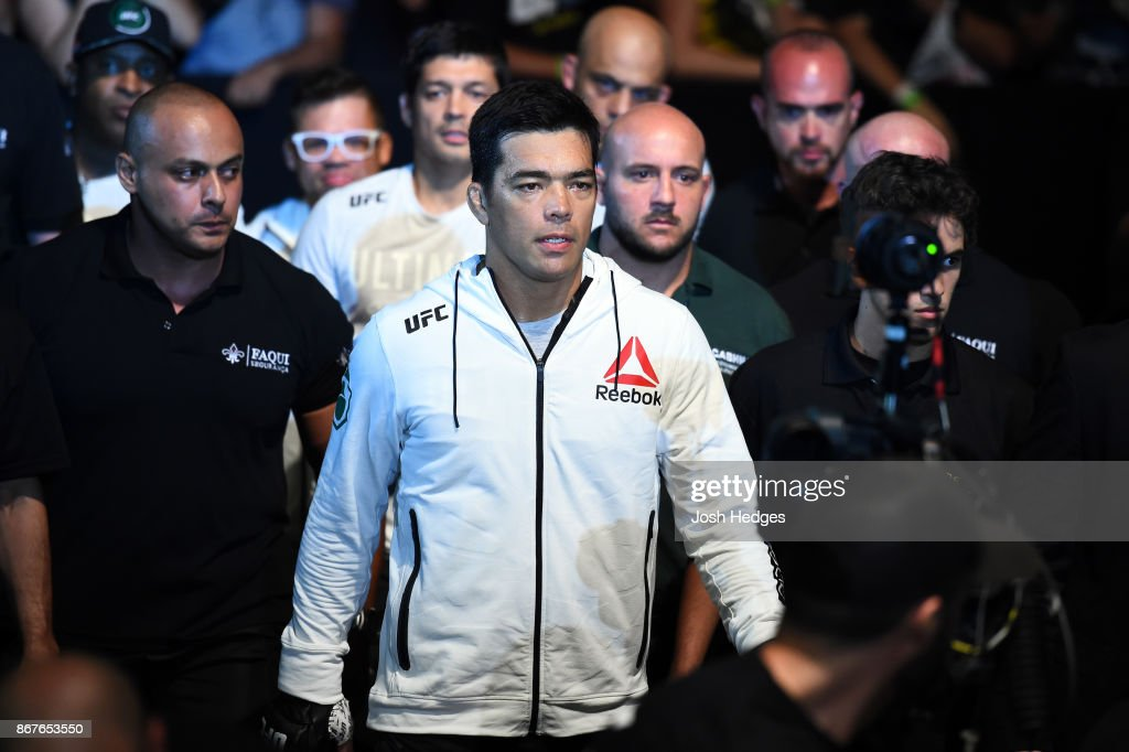 UFC Fight Night: Brunson v Machida : News Photo