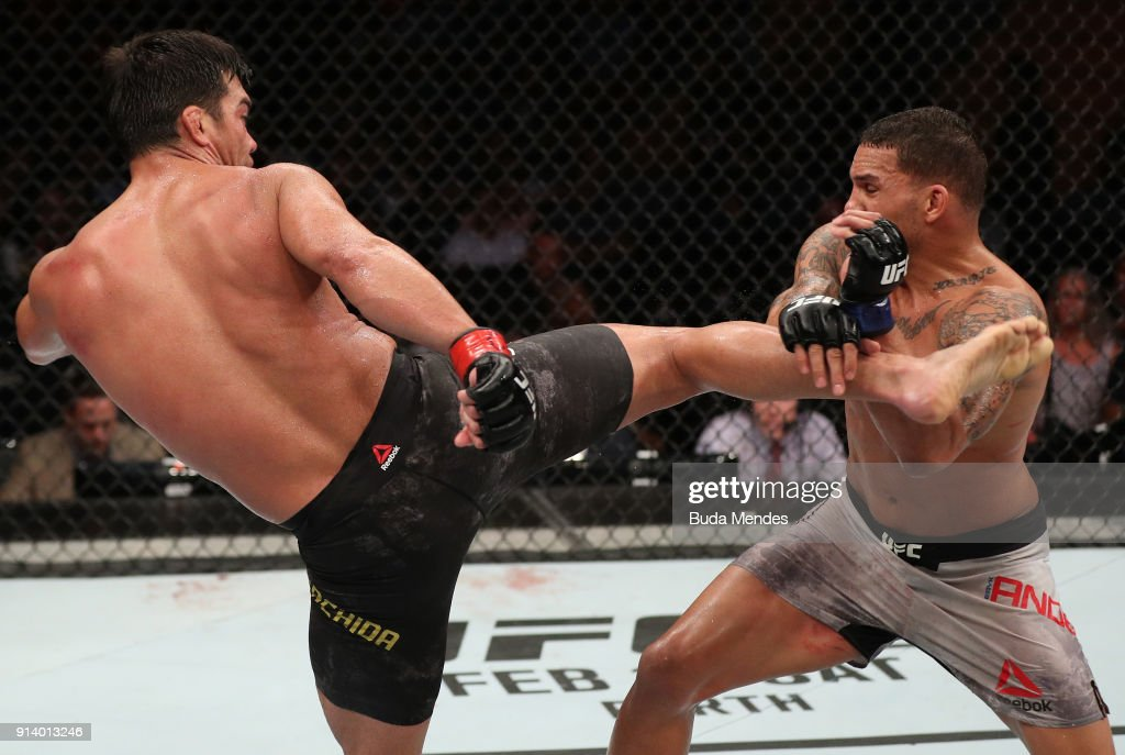 UFC Fight Night: Machida v Anders : News Photo