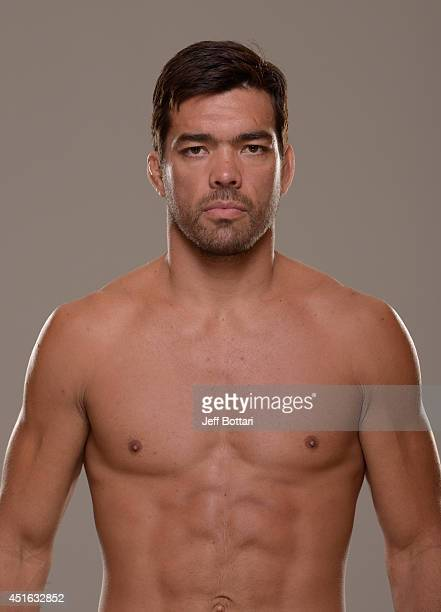Lyoto Machida poses for a portrait during a UFC photo session at the Mandalay Bay Convention Center on July 2 2014 in Las Vegas Nevada