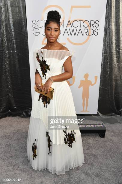 Lyric Ross attends the 25th Annual Screen Actors Guild Awards at The Shrine Auditorium on January 27 2019 in Los Angeles California