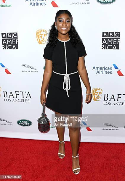 Lyric Ross attends the BAFTA Los Angeles BBC America TV Tea Party 2019 at The Beverly Hilton Hotel on September 21 2019 in Beverly Hills California