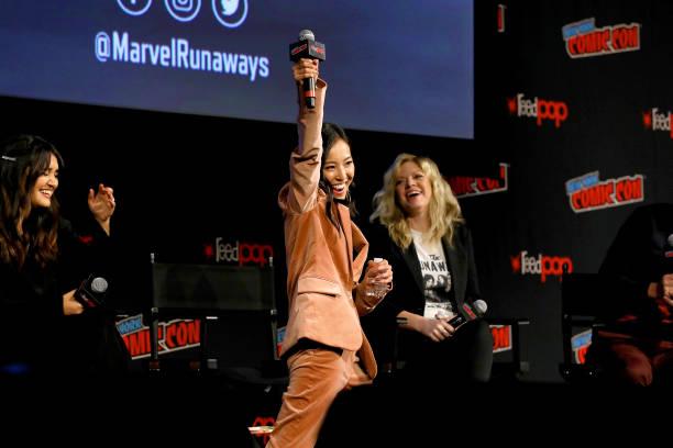 NY: Hulu Presents Marvel's Runaways Screening + Panel At New York Comic Con
