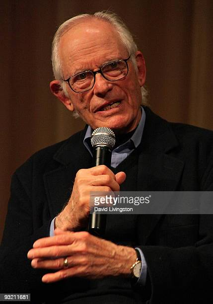 Lyricist Alan Bergman attends a Society of Composers Lyricists/ASCAP QA prior to a screening of The Informant at the Linwood Dunn Theater on November...