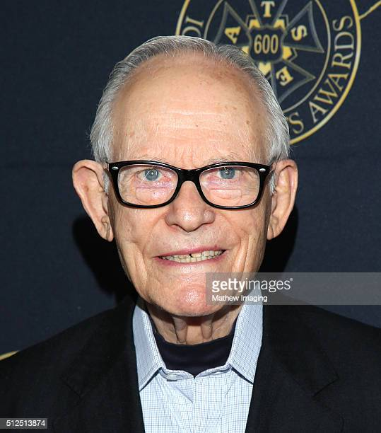 Lyricist Alan Bergman attends the 53rd Annual ICG Publicists Awards at The Beverly Hilton Hotel on February 26 2016 in Beverly Hills California