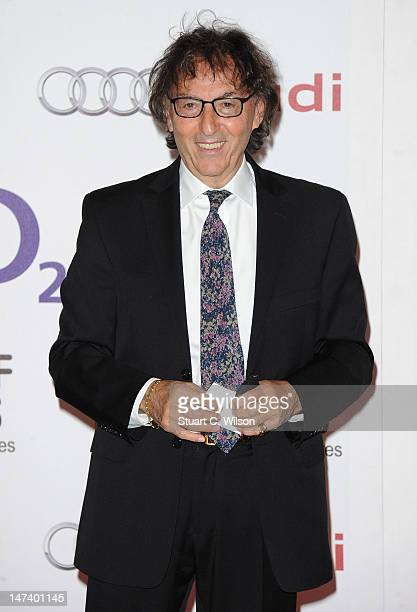 Lyricist Don Blackattends the Nordoff Robbins O2 Silver Clef Awards at the London Hilton Hotel on June 29, 2012 in London, England.