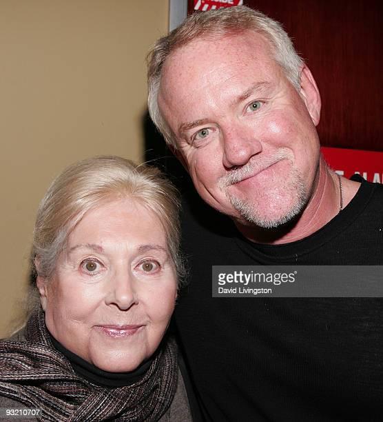 Lyricist Marilyn Bergman and composer John Debney attend ASCAP's reception honoring Marvin Hamlisch Bergman and her husband Alan Bergman at the...