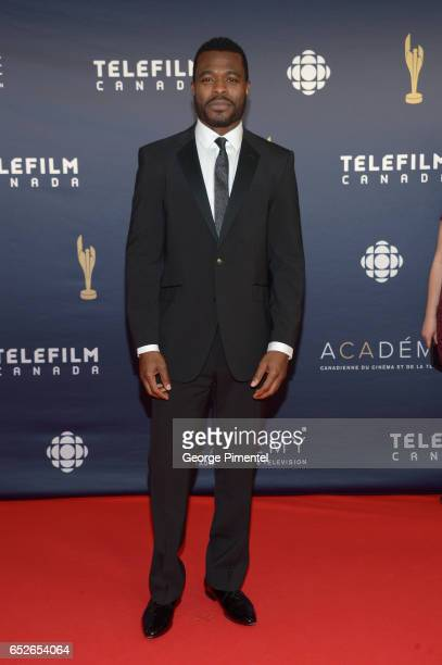 Lyriq Bent attends 2017 Canadian Screen Awards at Sony Centre For Performing Arts on March 12 2017 in Toronto Canada
