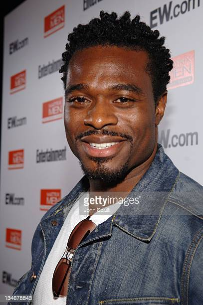 Lyriq Bent during 31st Annual Toronto International Film Festival Entertainment Weekly Party at Flow in Toronto Ontario Canada