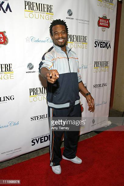 Lyriq Bent during AFI Fest 2005 LiveStyle's Premiere Lounge for Sorry Haters After Party at Cabana Club in Los Angeles California United States