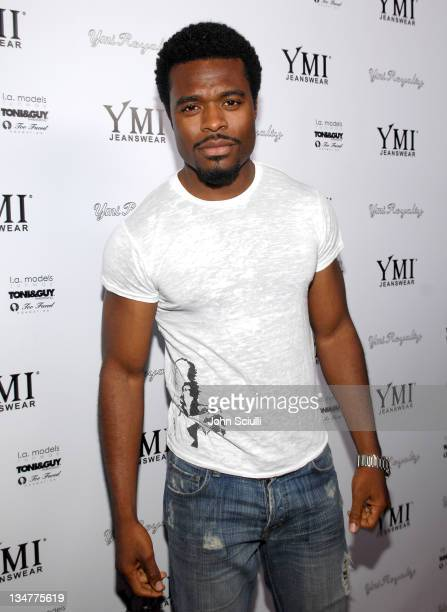 Lyriq Bent during YMI Jeans Fashion Show and Party in Los Angeles California United States