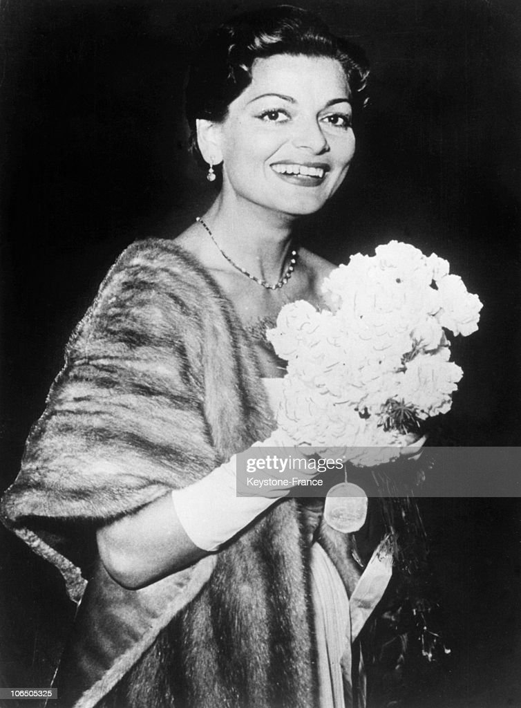 Lys Assia, Eurovision First Prize 1956 : News Photo