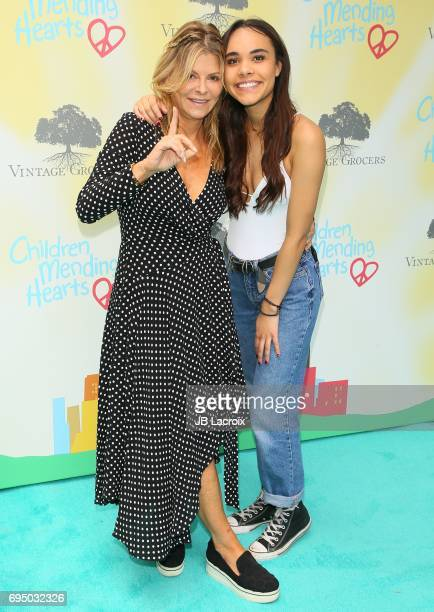 Lysa Hayland Heslov and Maya Heslov attends the Children Mending Hearts 9th Annual Empathy Rocks Fundraiser on June 11 2017 in Beverly Hills...