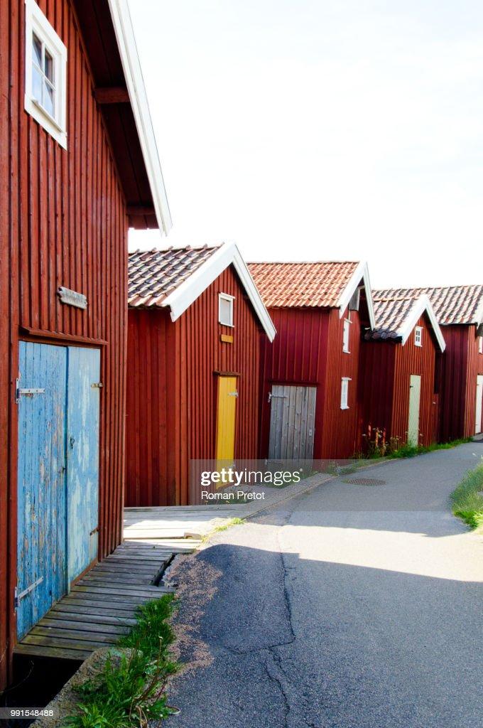 Lysekil,Sweden : Bildbanksbilder