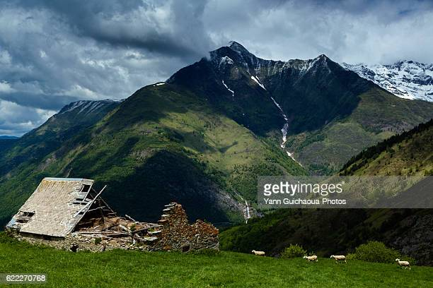 Lyse's valley,national park of Pyrenees, Hautes Pyrenees, France