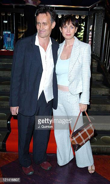 Lysette Anthony and guest during Rushes Soho Shorts Awards at Sound Night Club in London Great Britain