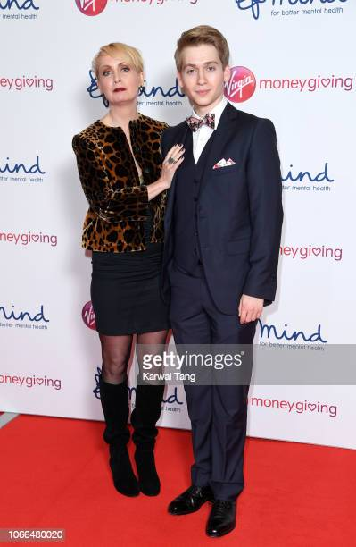 Lysette Anthony and Richard Linnell attend the Virgin Money Giving Mind Media Awards 2018 at Queen Elizabeth Hall on November 29, 2018 in London,...