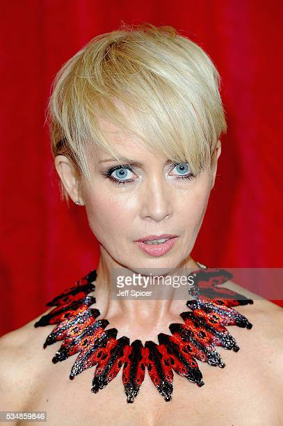 Lysette Anthony attends the British Soap Awards 2016 at Hackney Empire on May 28 2016 in London England