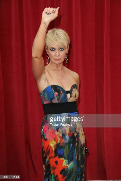 Lysette Anthony attends the British Soap Awards 2018 at Hackney Empire on June 2 2018 in London England