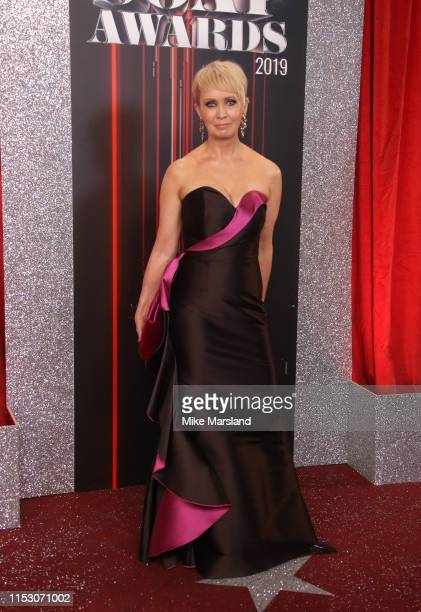 Lysette Anthony attends the British Soap Awards at The Lowry Theatre on June 01, 2019 in Manchester, England.