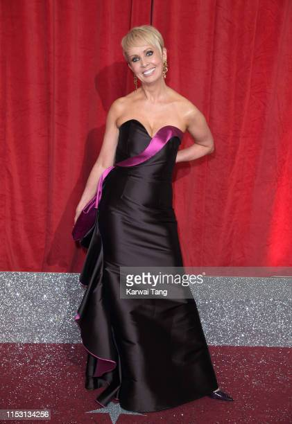 Lysette Anthony attends the British Soap Awards at The Lowry Theatre on June 01 2019 in Manchester England