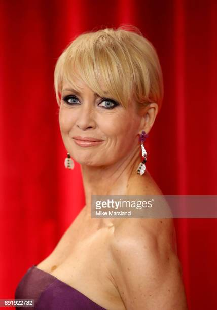 Lysette Anthony attends The British Soap Awards at The Lowry Theatre on June 3 2017 in Manchester England The Soap Awards will be aired on June 6 on...