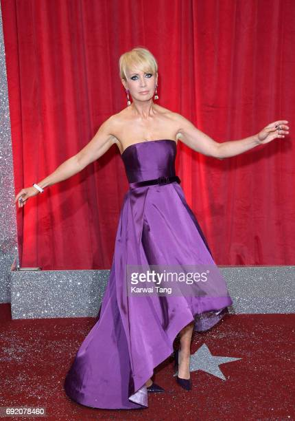 Lysette Anthony attends the British Soap Awards at The Lowry Theatre on June 3 2017 in Manchester England