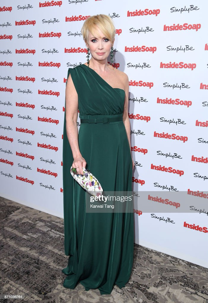 Lysette Anthony attends the Inside Soap Awards at The Hippodrome on November 6, 2017 in London, England.