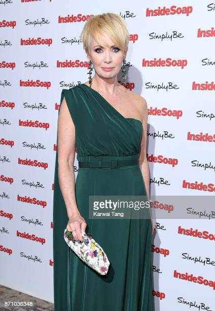 Lysette Anthony attends the Inside Soap Awards at The Hippodrome on November 6 2017 in London England
