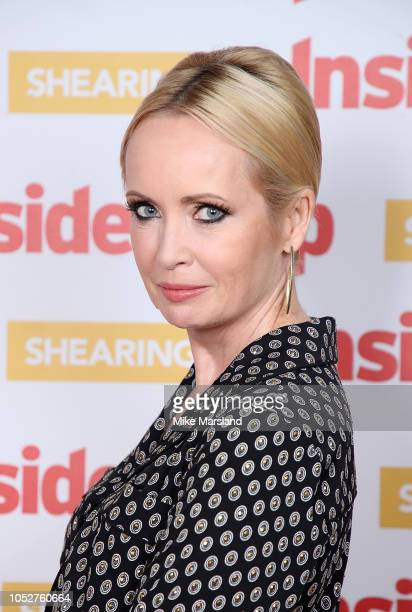 Lysette Anthony attends the Inside Soap Awards held at 100 Wardour Street on October 22, 2018 in London, England.