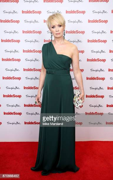 Lysette Anthony attends the Inside Soap Awards held at The Hippodrome on November 6 2017 in London England