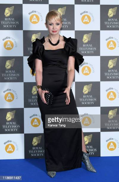 Lysette Anthony attends the Royal Television Society Programme Awards at Grosvenor House on March 19 2019 in London England