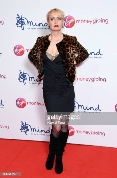 Lysette Anthony attends the Virgin Money Giving Mind Media Awards 2018 at Queen Elizabeth Hall on November 29 2018 in London England