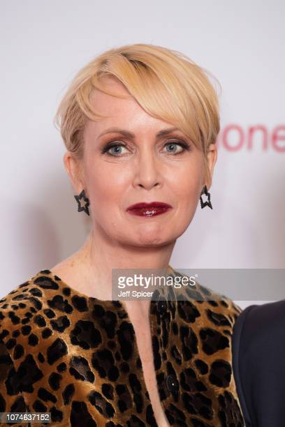 Lysette Anthony attends the Virgin Money Giving Mind Media Awards 2018 at Queen Elizabeth Hall on November 29, 2018 in London, England.