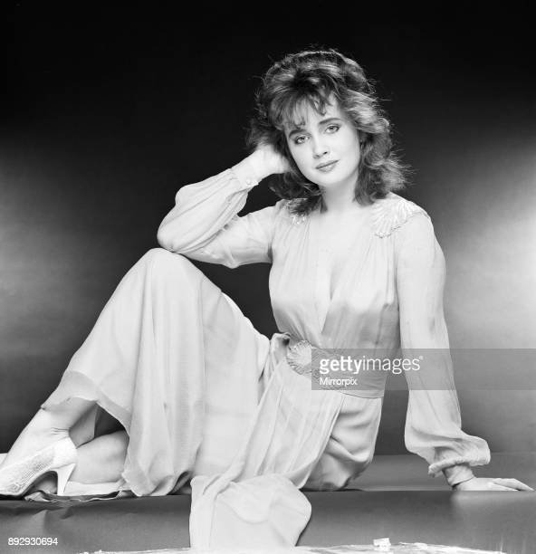 Lysette Anthony British actress aged 20 years old stars in new fantasy film Krull she plays the character Princess Lyssa Studio Pix London 14th...