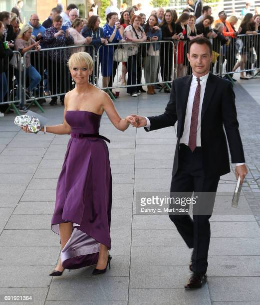 Lysette Anthony seen arriving at the British Soap Awards on June 3 2017 in Manchester England