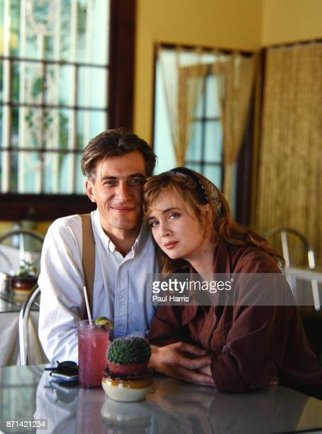 Lysette Anthony with her husband Luc Leestemaker in an interview with the Times of London alleges she was raped by the disgraced producer Harvey...
