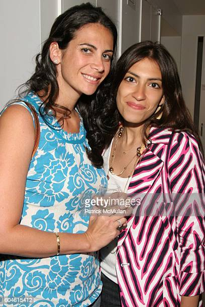 Lyss Stern and Heba Abedin attend The Opening of the New Sadick Dermatology Center at 911 Park Avenue on June 6 2006 in New York City