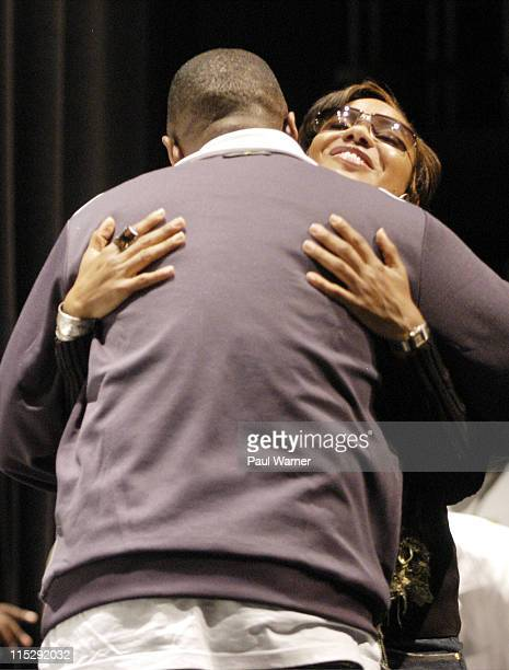 MC Lyte and Doug E Fresh during 2006 Hip Hop Summit Sponsored By Chrysler Financial at Wayne State University's Bonstelle Theatre in Detroit Michigan...