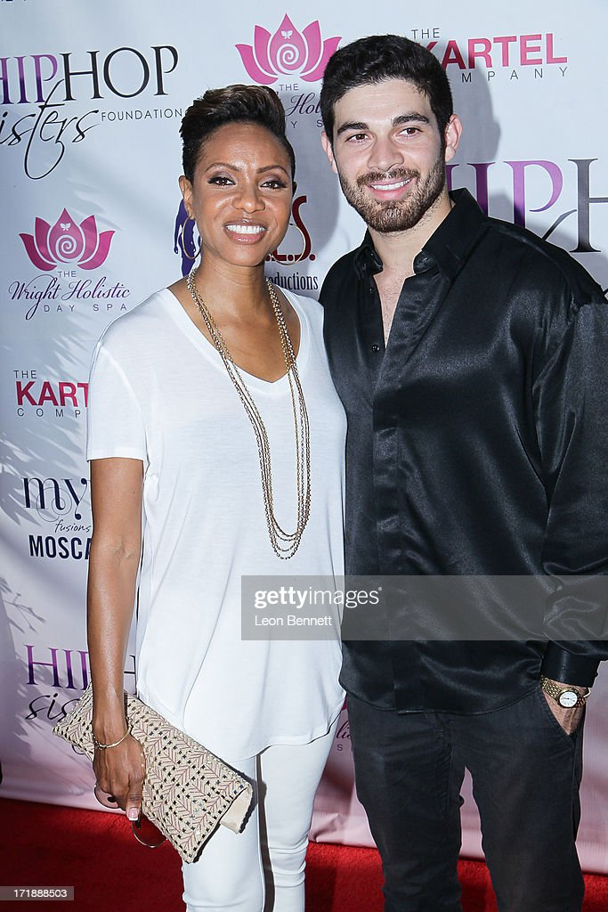 MC Lyte and Stan Carrizosa attends the Legendary Recording Hip-Hop