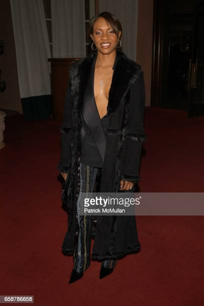 Lyte attends Clive Davis preGrammy Awards party at Beverly Hills Hotel on February 7 2004 in Los Angeles CA