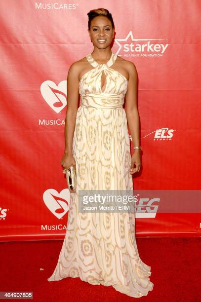 Lyte attends The 2014 MusiCares Person Of The Year Gala Honoring Carole King at Los Angeles Convention Center on January 24 2014 in Los Angeles...