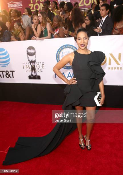 Lyte attends the 49th NAACP Image Awards at Pasadena Civic Auditorium on January 15 2018 in Pasadena California