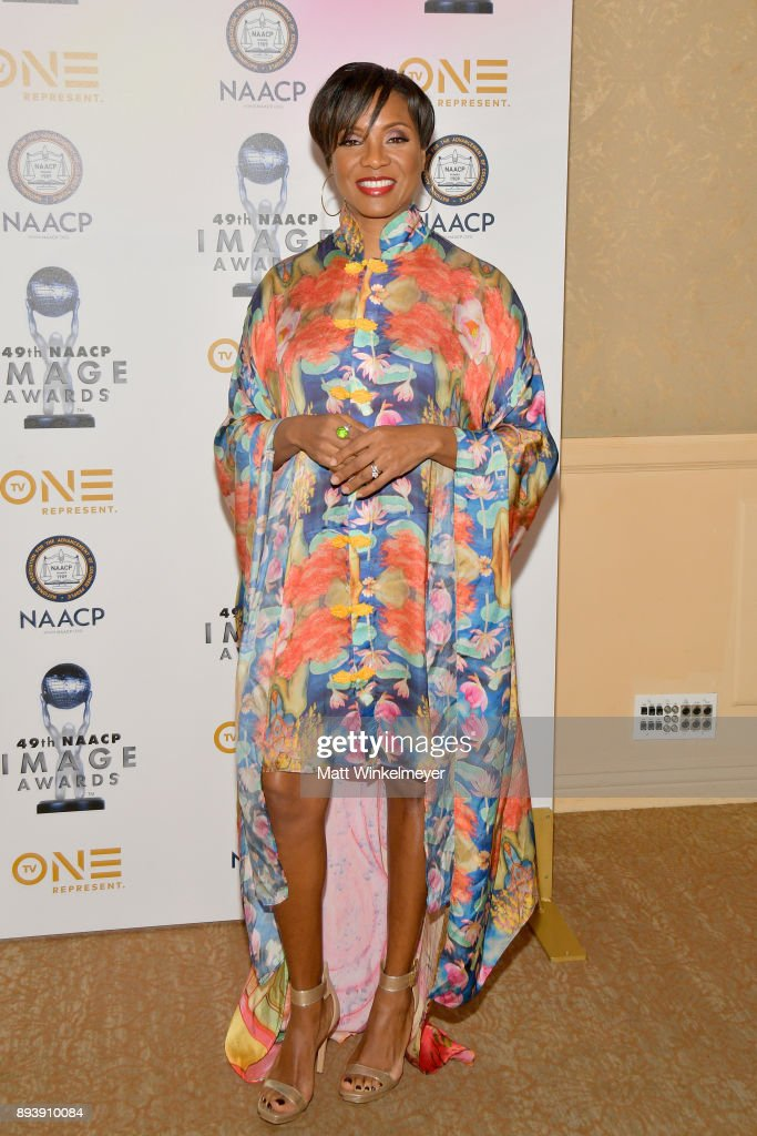 MC Lyte attends the 49th NAACP Image Awards Nominees' Luncheon at The Beverly Hilton Hotel on December 16, 2017 in Beverly Hills, California.
