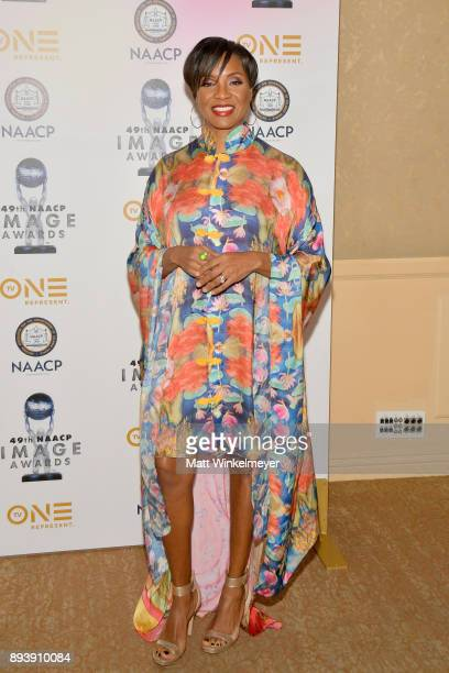 Lyte attends the 49th NAACP Image Awards Nominees' Luncheon at The Beverly Hilton Hotel on December 16 2017 in Beverly Hills California