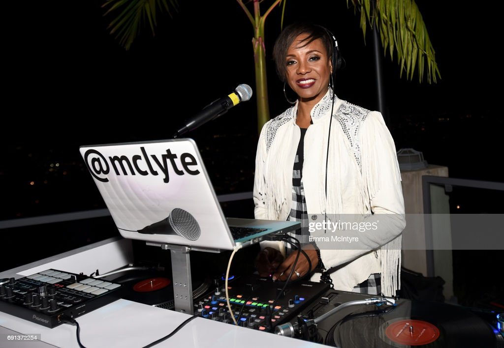 Lyte attends the after party for the premiere of TNT's 'Claws' at Harmony Gold Theatre on June 1, 2017 in Los Angeles, California. 27059_001