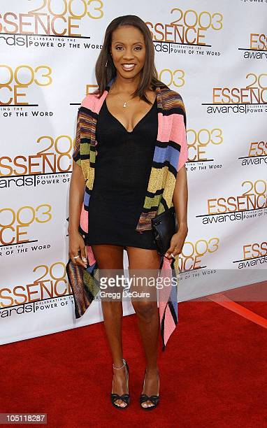 MC Lyte during 2003 Essence Awards Arrivals at Kodak Theatre in Hollywood California United States
