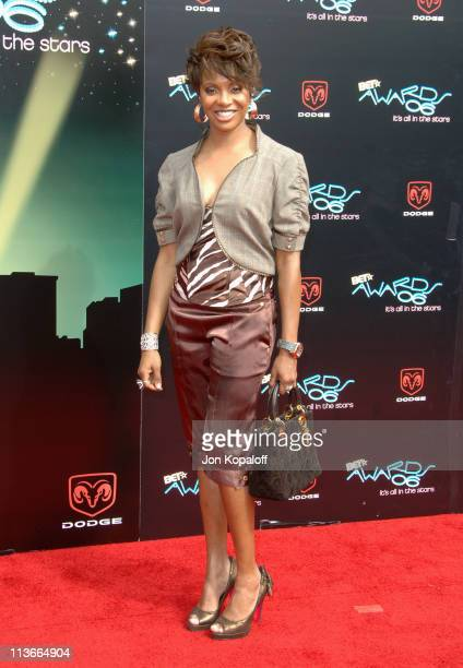 MC Lyte during 2006 BET Awards Arrivals at The Shrine in Los Angeles California United States
